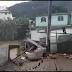 Chuva causa alagamentos em Duas Barras, RJ.