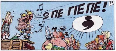 Ο Γιεγιεδίξ και το ροκ 'εν ρολ στο Αστερίξ και οι Νορμανδοί / Rock 'n Roll in Asterix and the Normans