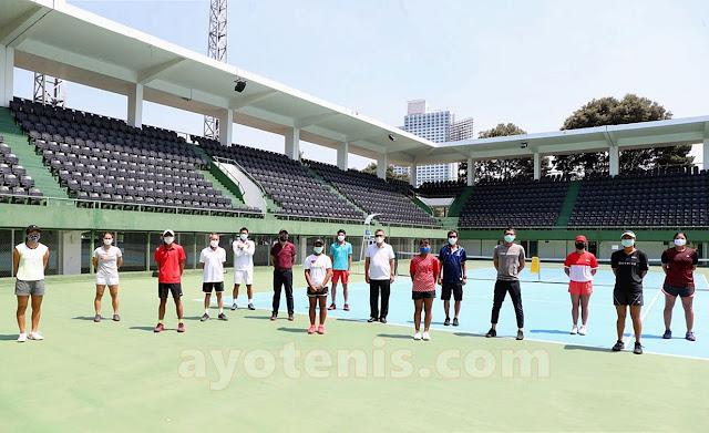 Ketum PP PELTI Rildo Ananda Anwar Himbau Seluruh Pelaku Tenis Indonesia Patuhi dan Terapkan Protokol Kesehatan