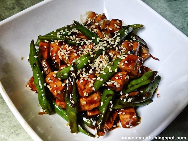 tofu+and+beans Tofu and Beans