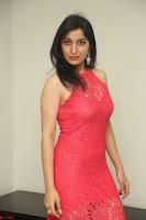 Sakshi Kakkar in Red Legsplit Sleeveless Gown at Dare movie Press meet ~  Exclusive 013.JPG