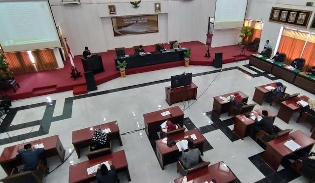 Rapat Paripurna di DPRD Lumajang