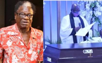 "Veteran highlife musicain ""Dr Victor Abimbola Olaiya"" was buried in lagos"