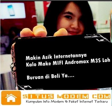 Wow Smartfren Luncurkan MIFI Andromax M3S dan Ini Rincian Bonus Paket Internetnya