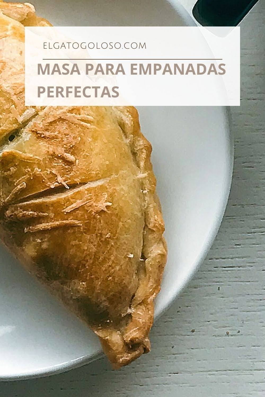 la mejor receta de masa para empanadas horneadas