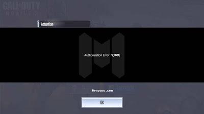 Call Of Duty Mobile Tidak Bisa Login Setelah Update  Call Of Duty Mobile Tidak Bisa Login Setelah Update 1.0.2