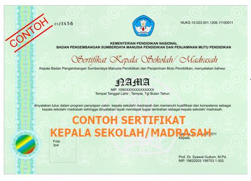Kepala Sekolah maupun Kepala Madrasah merupakan tokoh kunci dalam perbaikan Pendidikan be Download Juklak Pemerolehan Sertifikat dan Nomor Unik Kepala Sekolah Madrasah (NUKS/M)