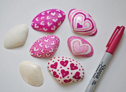 valentine-shells