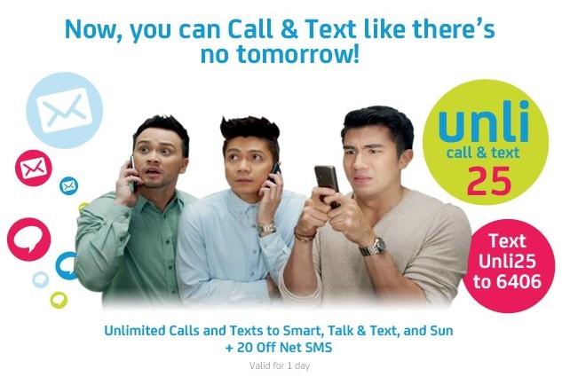 Smart Tri-Net Unli Call & Text 25