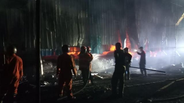 Pabrik Briket di Blora Ludes Terbakar, Penyebab Kebakaran ...