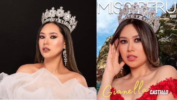 Gianella Castillo es Miss Perú Pisco 2021