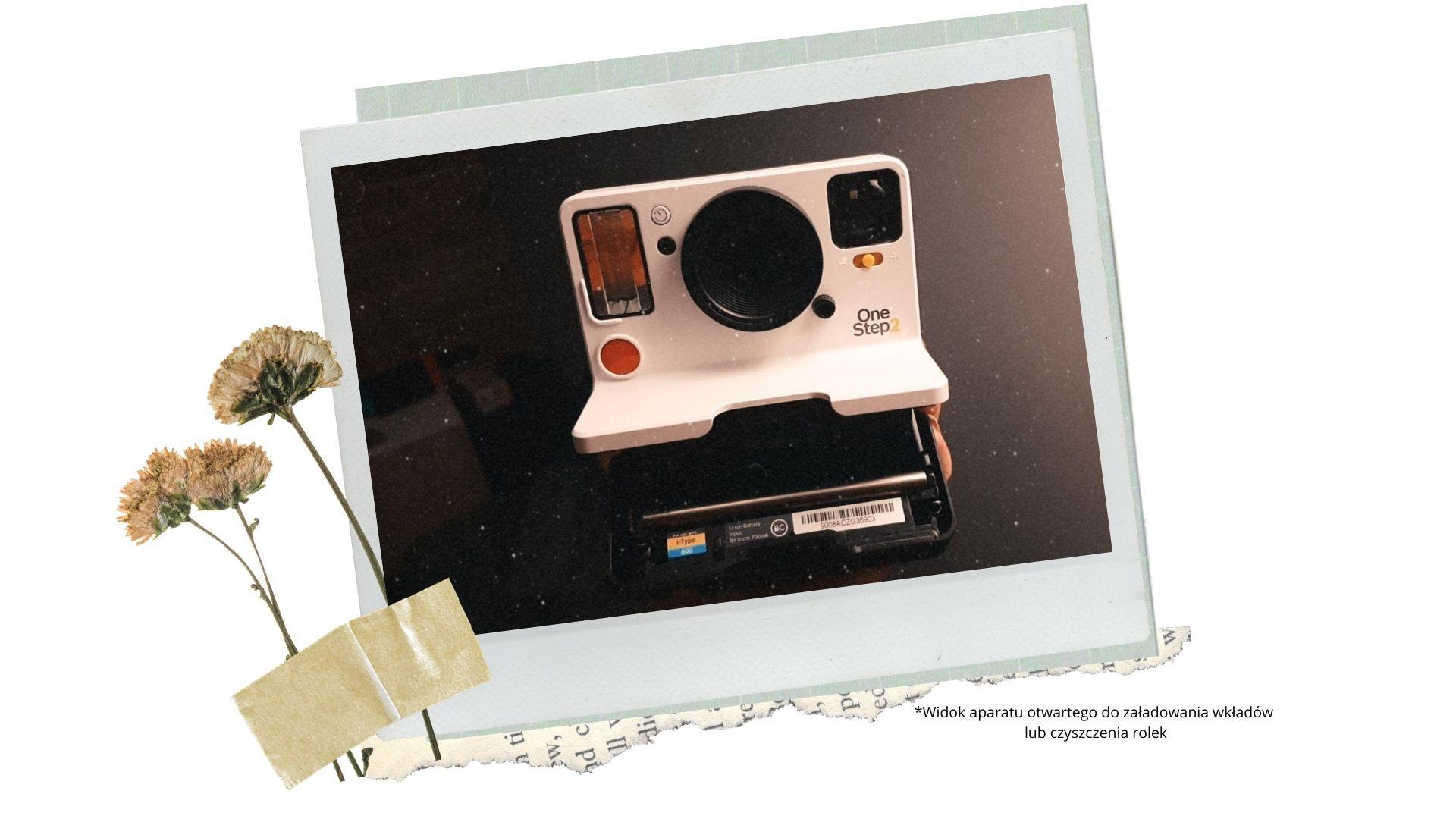 4 instrukcja jak czyscic rolki polaroid jak wymienic wklad onestep2 ile trzyma bateria na ile zdjec wystarcza naladowanie