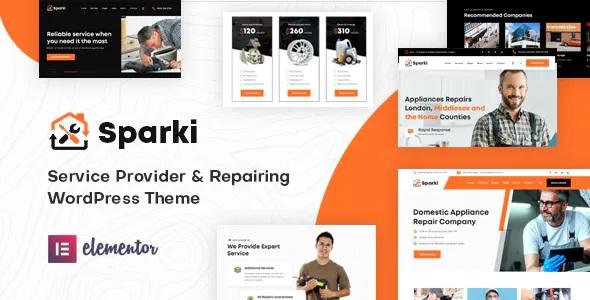 Best Service Repair WordPress Theme