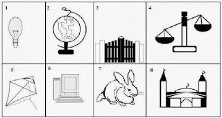 Contoh gambar pengerjaan psikoyes wartegg yang benar
