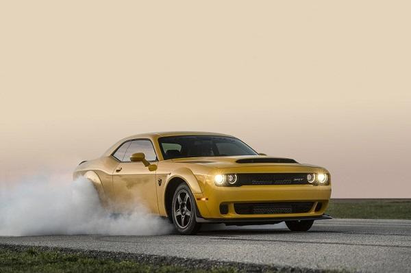Dodge Challenger SRT Demon preparados por Hennessey