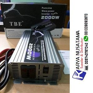 Jual Inventer Merk TBE 2000watt 12V DC to 220V AC di Sukabumi