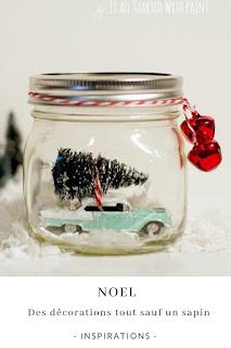 inspirations pour une decoration de noel sans sapin blog unjourmonprinceviendra26.com