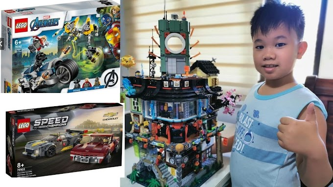 LEGO sale up to 50% off Shopee this 7.7