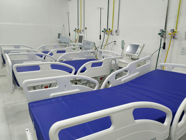12 leitos de Enfermaria Covid são reativados para enfrentar aumento de casos da doença em Patos