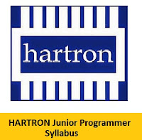 HARTRON Junior Programmer Syllabus