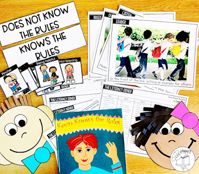 Created engaged learners with these back to school read alouds! They are perfect for introducing characters, setting and more!