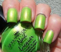 Queen's Color Pearl Green