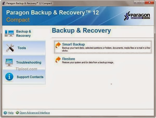 paragon backup and recovery 14 free edition download