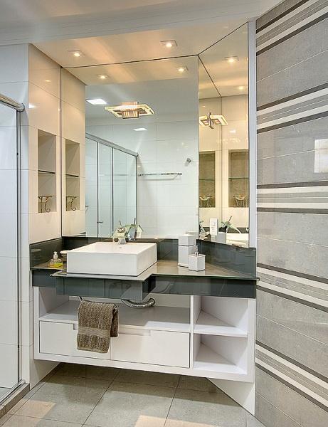 meu doce lar  Meu banheiro -> Espelho Banheiro Moderno
