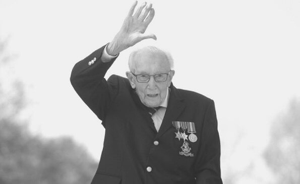 Captain Sir Tom was born on April 30, 1920 in Keighley, North Yorkshire. Queen Elizabeth, Prince Philip, Prince Charles and Prince William