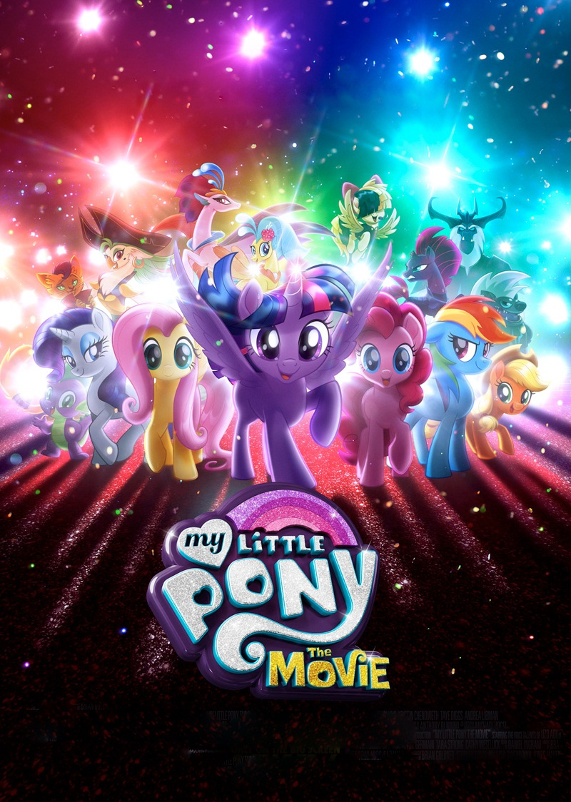 My Little Pony: The Movie [2017] [DVDR] [NTSC] [CUSTOM HD] [Latino]