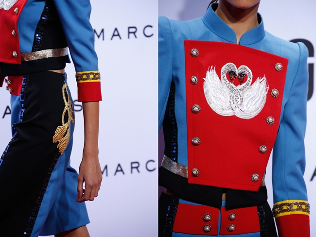 2016 SS Marc Jacobs Swan Prince Garment Set on Runway