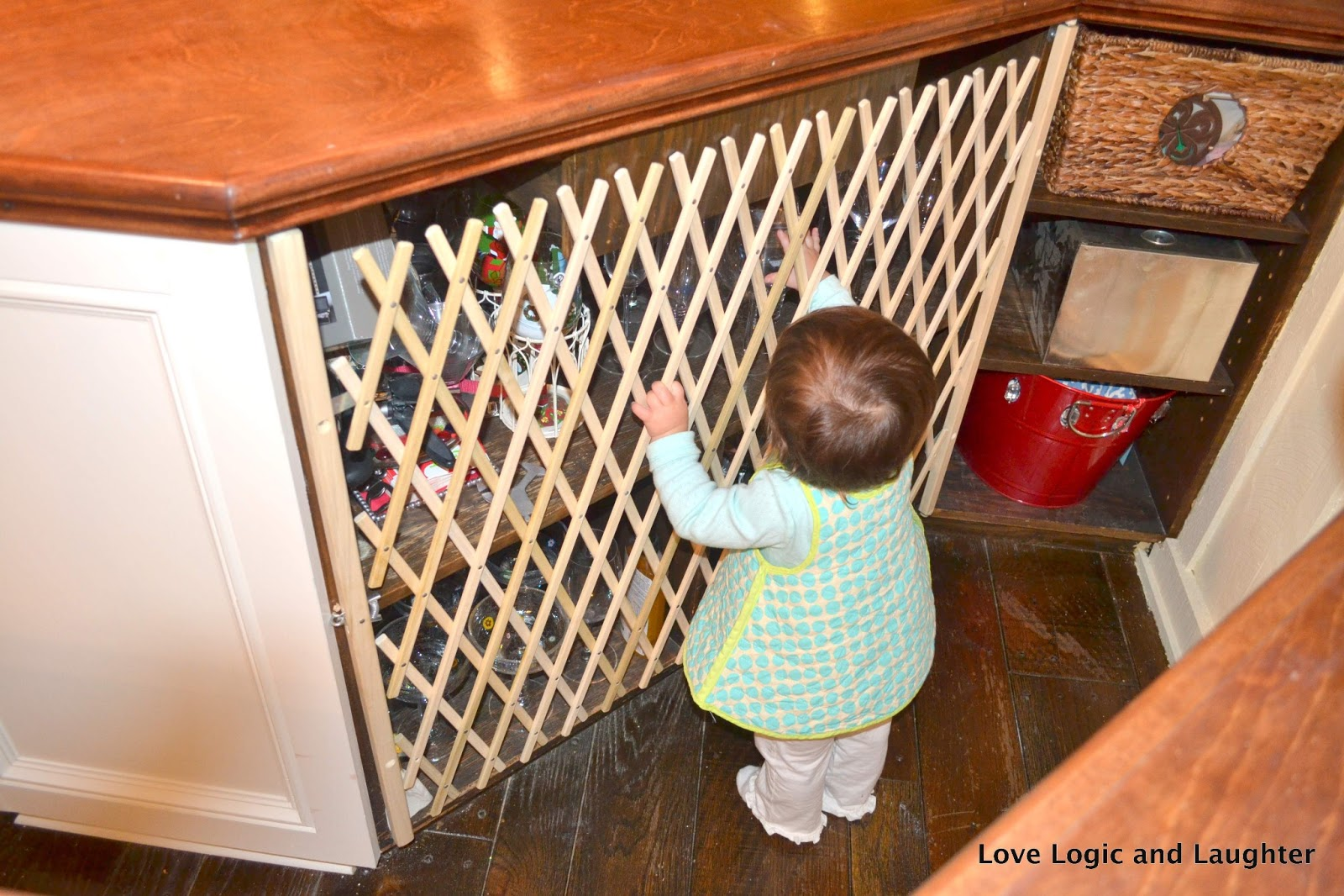 Baby Proofing The Wet Bar