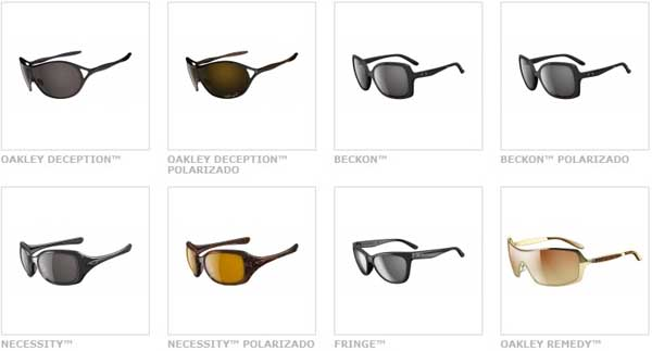 ecfe1aa5b6dfc Para as mulheres irem ao delírio com os novos modelos de óculos da Oakley  2012