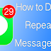 How to Disable Repeating Message Alert On iPhone