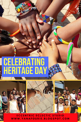Heritage Day celebrate in South Africa at school