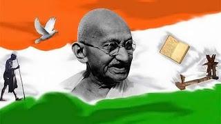 Mahatma-Gandhi-ji-Status