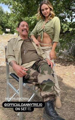 Martina Nasoni film con attore americano messicano Danny Trejo