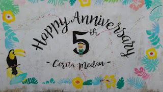 5th Anniversary Cerita Medan