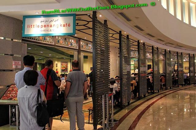 Little Penang Kafe, Petronas Twin Tower, Suria KLCC, KL, Malaysia