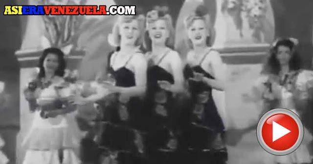 MUSICAL | Señorita Maracas from Caracas en los años 40