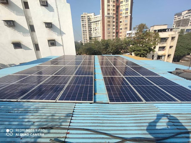 Mosques in Mumbai continue to embrace solar power!!