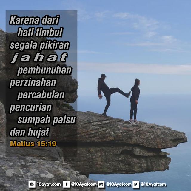 Matius 15:19