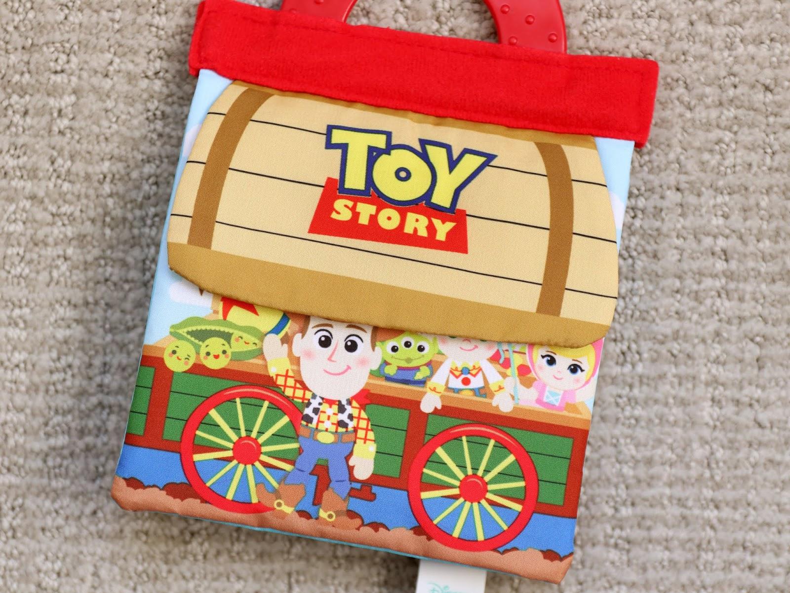 toy story disney baby soft book