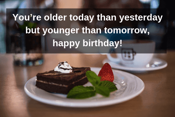 funny birthday cake images with quotes