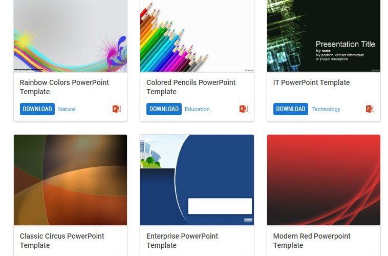 Makin Di Lirik Begini Cara Download Template Ppt Secara Gratis Artikel Gadget Informasi Seputar Perangkat Dan Teknologi