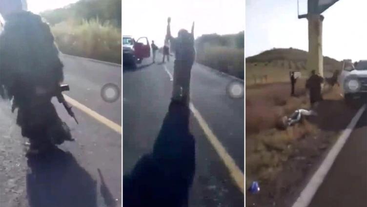 """""""No nos hacen nada p3rros"""", Armados hasta los dientes sicarios de """"Los Viagras"""" anuncian su llegada a El Aguaje, Michoacán para topar al CJNG"""
