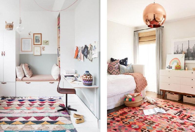 Tappeti Colorati Per Camerette : Scegliere il tappeto giusto per ogni ambiente della casa