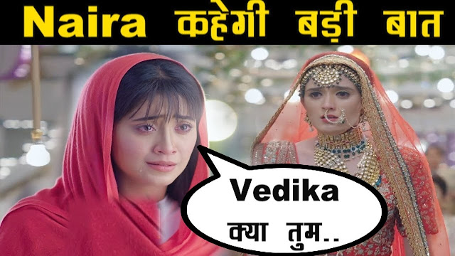 What! Kartik returns back in wedding mandap for Vedika in YRKKH