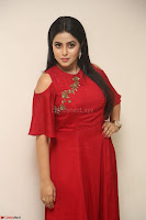 Poorna in Maroon Dress at Rakshasi movie Press meet Cute Pics ~  Exclusive 169.JPG
