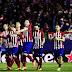Atlético de Madrid mostrou mais uma vez o seu ponto fraco, mas está nas quartas da Champions League